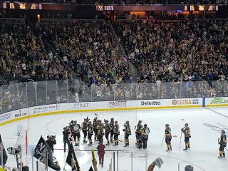 GOLDEN KNIGHTS TAKE A COMMANDING 3-1 SERIES LEAD